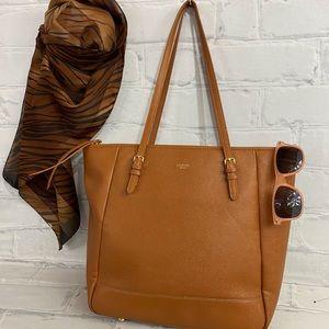 Chestnut Sorial Tote Bag